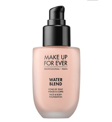water blend foundation by make up for ever