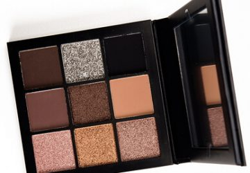 huda smokey obsessed eye shadow palette open colors