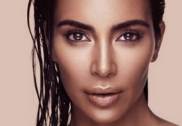 kim kardashian photo with perfect contouring