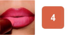 ombre lips step by step tutorial apply lipstick