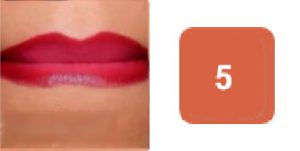 ombre lips step by step tutorial press your lips together