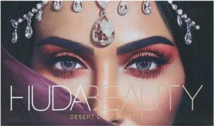 Huda Beauty Eye Shadow Palette Closed Packaging