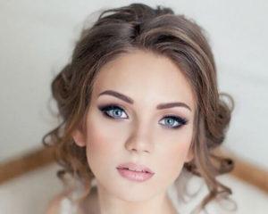 bridewearing professional makeup