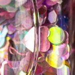 lime crime aquarium glitter closeup