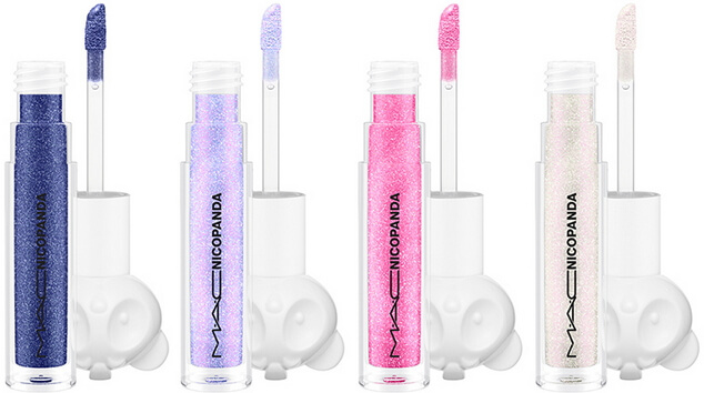 mac nicopanda lip glosses