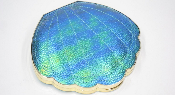 tarte be a mermaid closed eye shadow shell palette
