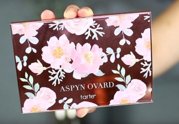 Tarte Aspyn Onvard eye and cheek palette closed packaging