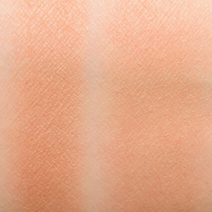 too faced sunny honey bronzer natural swatch on skin