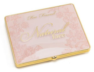 too faced natural face palette closed