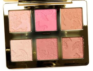 too faced natural face palette of highlighters and blushes colors pan