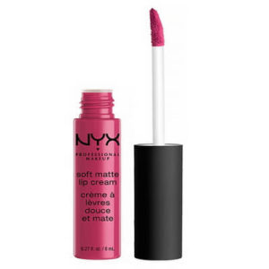 NYX Prague Soft Matte Lip Cream in packaging