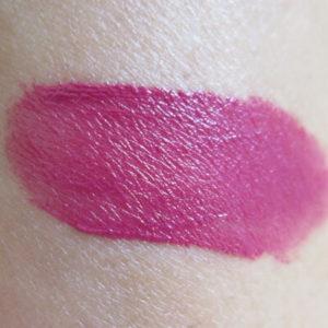 NYX Prague Soft Matte Lip Cream swatch on skin
